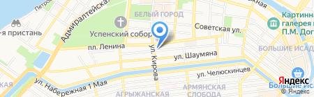 КанцОфис на карте Астрахани