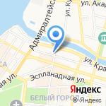 Ной на карте Астрахани