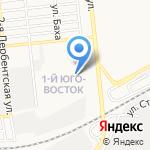 Кубанский-С на карте Астрахани