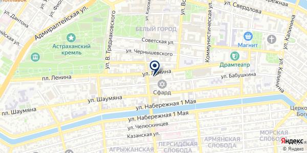 Строим вместе на карте Астрахани