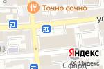 Схема проезда до компании Элемент Лизинг в Астрахани