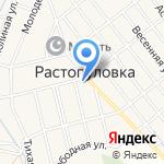 Растопуловское ЖКХ на карте Астрахани