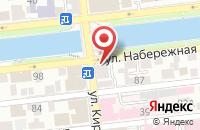 Схема проезда до компании Клевер в Астрахани