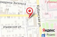Схема проезда до компании ТехноНИКОЛЬ Астрахань в Астрахани