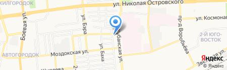 Домашний доктор на карте Астрахани
