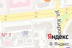 Схема проезда до компании Кэти-стиль в Астрахани