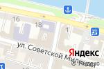 Схема проезда до компании Финам в Астрахани
