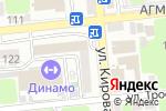 Схема проезда до компании Верстак в Астрахани