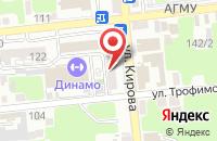 Схема проезда до компании Гарант Партнер в Астрахани