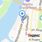 Синатра на карте Астрахани