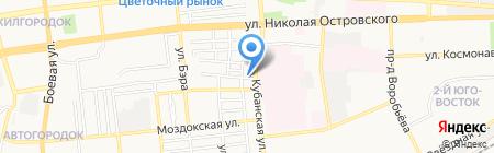 Шиленко на карте Астрахани