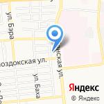 СТЕКЛОФФ на карте Астрахани