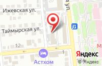 Схема проезда до компании Отделочник в Астрахани