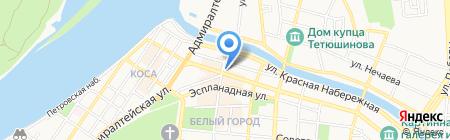 Отдел информации и общественных связей Управления МВД России по Астраханской области на карте Астрахани