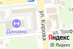 Схема проезда до компании Инвитро в Астрахани