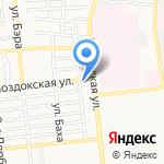 Энергомера-Юг на карте Астрахани