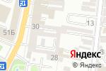 Схема проезда до компании Адмиралтейская в Астрахани