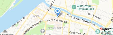 Паблик-Пресс на карте Астрахани