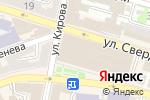 Схема проезда до компании Каменный цветок в Астрахани