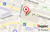 Схема проезда до компании OffisePrint в Астрахани
