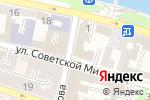 Схема проезда до компании СарБТИ в Астрахани