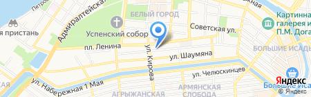 Исит-Центр на карте Астрахани
