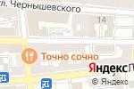 Схема проезда до компании Золотая Черепаха в Астрахани