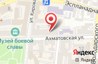 Схема проезда до компании Fastmoney в Астрахани