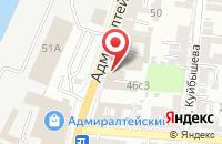 Схема проезда до компании Комфорт Сервис+ в Астрахани
