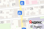 Схема проезда до компании Шафран в Астрахани