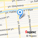 Пельменная на карте Астрахани