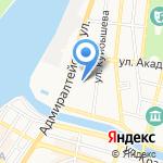 Decole на карте Астрахани
