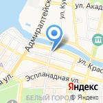 Иль де Ботэ на карте Астрахани