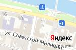 Схема проезда до компании Smart Language School в Астрахани