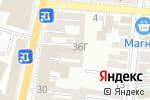 Схема проезда до компании Хладон в Астрахани