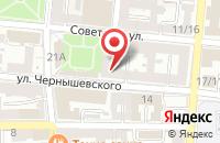 Схема проезда до компании Айлин в Астрахани