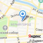 Дюймовочка на карте Астрахани