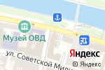 Схема проезда до компании Омега в Астрахани