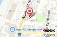 Схема проезда до компании АСТБТИ-Проект в Астрахани