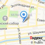 Нотариус Нуруллаева Э.Х. на карте Астрахани