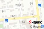Схема проезда до компании Компания по подбору автоэмалей в Астрахани