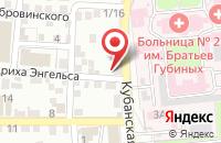 Схема проезда до компании Моё дело в Астрахани