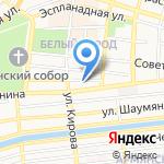 Открытки`Н на карте Астрахани