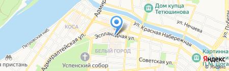 Библиотека-центр социокультурной реабилитации инвалидов по зрению на карте Астрахани