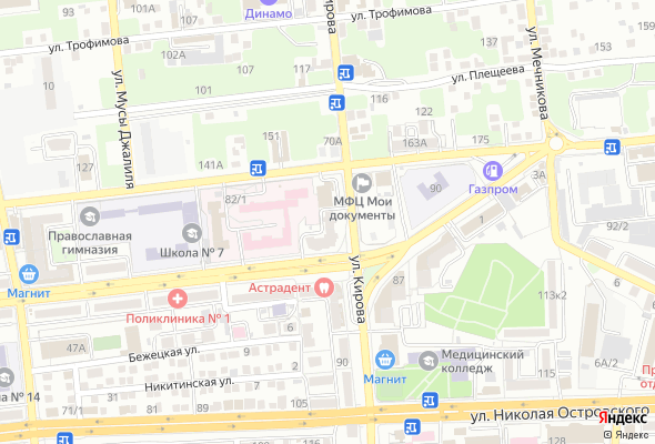 жилой комплекс ул. Кирова, 82