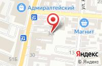 Схема проезда до компании Региональный Центр Независимой Экспертизы в Астрахани