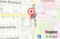 Схема проезда до компании ИСТ ГЛОБАЛ в Астрахани