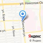 Страховая фирма на карте Астрахани