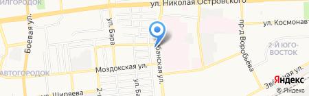 Mr. Шкафф на карте Астрахани