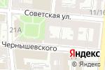 Схема проезда до компании Триумф в Астрахани